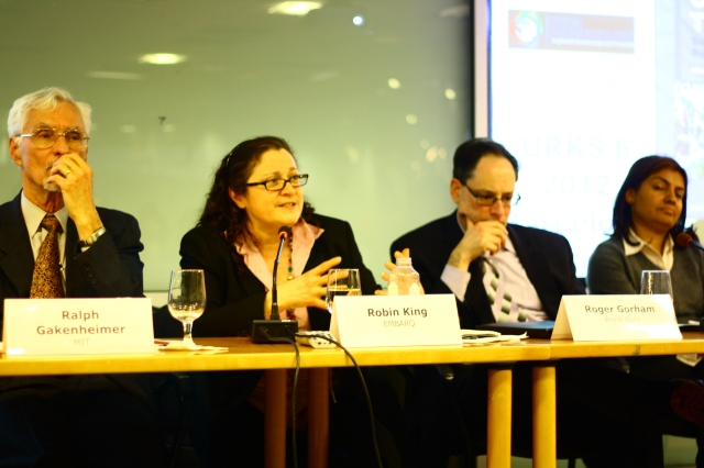 Panel of mobility experts at the Annual World Bank SDN Conference. Photo by Matt Kroneberger.